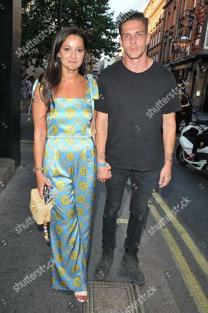 Roxie Nafousi and Wade Briggs