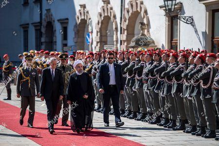 Hassan Rouhani and Alexander Van der Bellen
