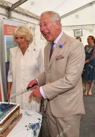 Prince Charles and Camilla Duchess of Cornwall visit Wales, Day 3