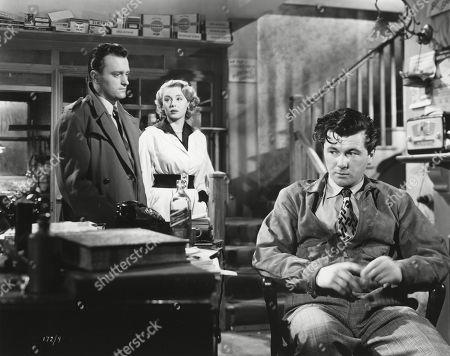 Patric Doonan, as Johnny Burrows, Sandra Dorne, as Lucky Price, Bryan Forbes, as Ted Reid