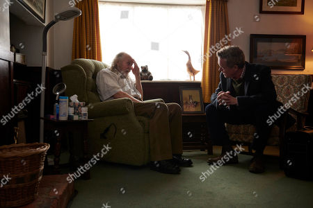 Stock Picture of Alex Jennings as Dr Tim Finch and Roy Healey as Gordon Reid.