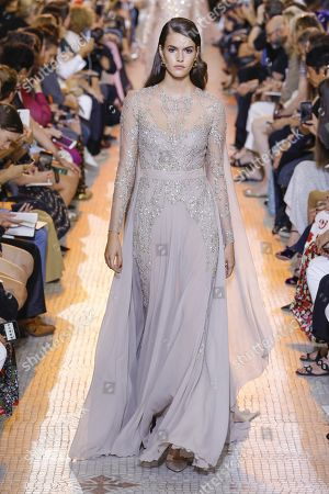 Vanessa Moody on the catwalk