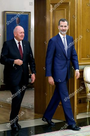 Governor General of Australia Peter Cosgrove visit to Spain