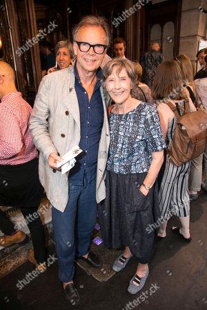 Jonathan Kent and Dame Eileen Atkins