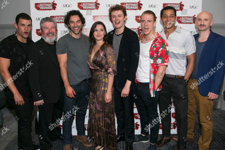 Stock Image of Julian Moore-Cook (Joey), Denis Conway (Donny), Aidan Turner (Padraic), Charlie Murphy (Mairead), Chris Walley (Davey), Brian Martin (James), Daryl McCormack (Brendan) and Will Irvine (Christy)