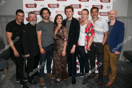 Stock Photo of Julian Moore-Cook (Joey), Denis Conway (Donny), Aidan Turner (Padraic), Charlie Murphy (Mairead), Chris Walley (Davey), Brian Martin (James), Daryl McCormack (Brendan) and Will Irvine (Christy)