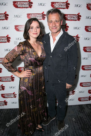 Charlie Murphy (Mairead) and Michael Grandage (Director)