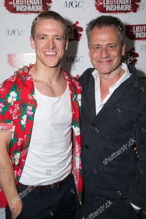 Brian Martin (James) and Michael Grandage (Director)