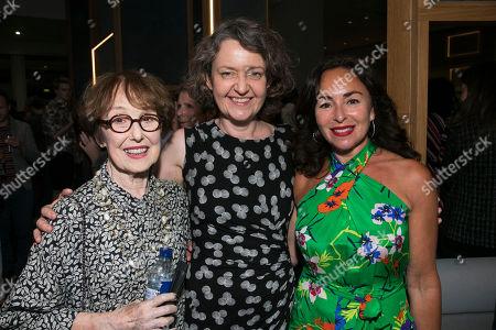 Una Stubbs, Lucy Briers and Samantha Spiro