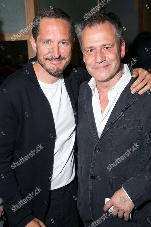 Bertie Carvel and Michael Grandage (Director)