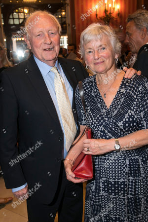 Stock Photo of Neil Kinnock and Glenys Kinnock