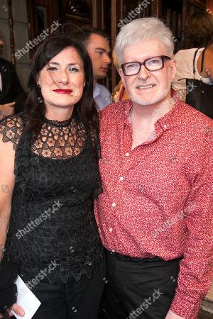 Susan Pedersen (Assistant Wigs & Hair Designer) and Richard Mawbey (Wigs & Hair Designer)