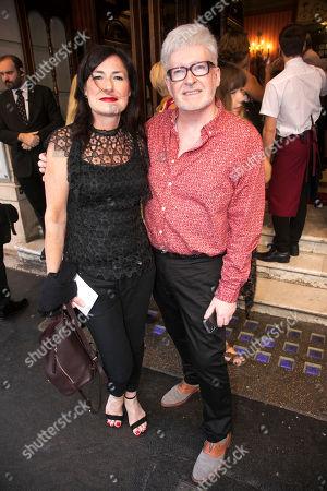 Stock Photo of Susan Pedersen (Assistant Wigs & Hair Designer) and Richard Mawbey (Wigs & Hair Designer)