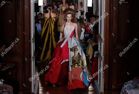 Editorial picture of Valentino - Runway - Paris Fashion Week Haute Couture F/W 2018/19, France - 04 Jul 2018