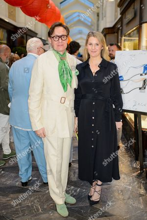 Nick Foulkes and Kinvara Balfour