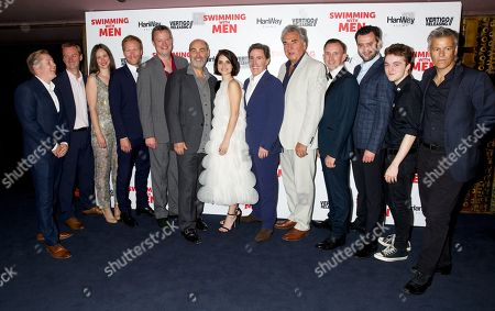 Editorial image of 'Swimming With Men' film premiere, London, UK - 04 Jul 2018