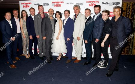 Stock Picture of Thomas Turgoose, Anna Mohr-Pietsch, Christian Rubeck, Ronan Daley, Ol Parker, Charlotte Riley, Rob Brydon, Jim Carter, Chris Jepson, Daniel Mays, Spike White & Rupert Graves