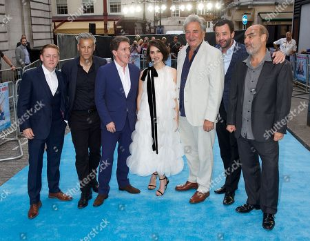 Stock Picture of Thomas Turgoose, Rupert Graves, Rob Brydon, Charlotte Riley, Jim Carter, Daniel Mays & Ol Parker (Director)
