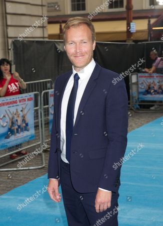 Editorial photo of 'Swimming With Men' film premiere, London, UK - 04 Jul 2018