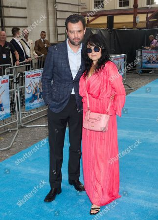 Stock Image of Daniel Mays & Louise Burton