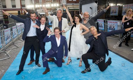 Daniel Mays, Thomas Turgoose, Jim Carter, Rob Brydon, Charlotte Riley, Ol Parker (Director) & Rupert Graves