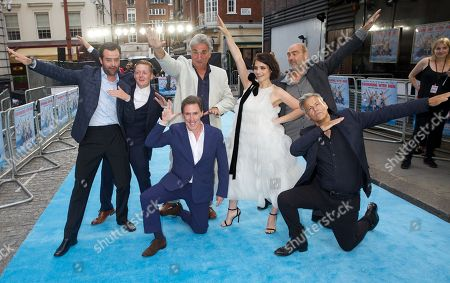 Editorial photo of 'Swimming With Men' film premiere, London, UK - 04 Jul 2018