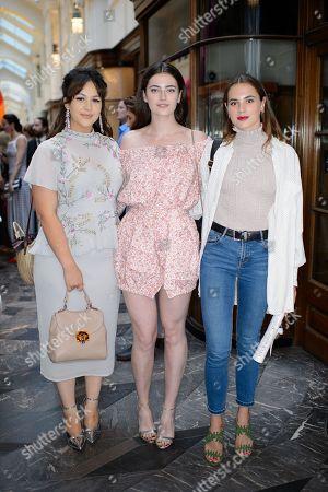 Eliza Butterworth, Millie Brady and Caroline Brady