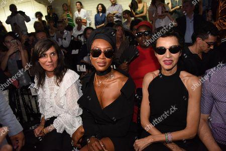 Emmanuelle Alt, Naomi Campbell, Farida Khelfa