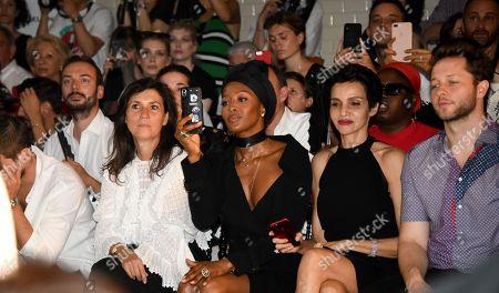 Emmanuelle Alt, Naomi Campbell, Farida Khelfa and Derek Blasberg