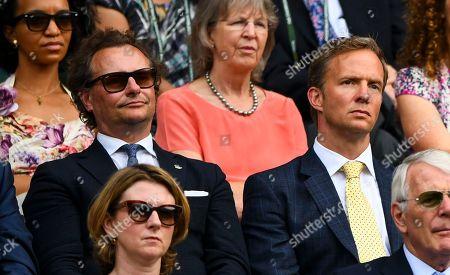Stock Photo of Neil Stuke and Rupert Penry Jones in the Royal Box