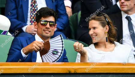 Alistair Cook and his wife Alice Cook