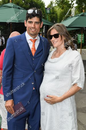 Alastair Cook and wife Alice Cook