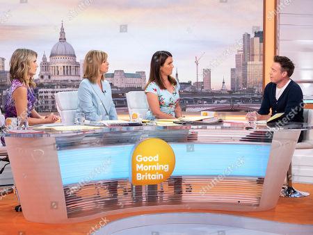 Editorial image of 'Good Morning Britain' TV show, London, UK - 05 Jul 2018