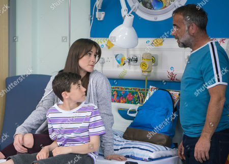 Ep 9518 Friday 27th July 2018 - 1st Ep Kevin Webster, as played by Michael Le Vell, prepares to move Jack, as played by Kyran Bowes, to the rehab centre in Liverpool.