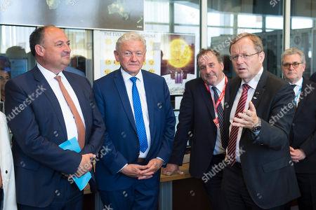 Willy Borsus, Francois Bellot and Johann-Dietrich Worner