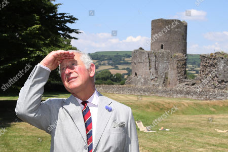 Prince Charles and Camilla Duchess of Cornwall visit Wales, Day 4