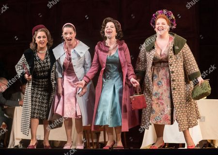 Marie McLaughlin as Meg Page, Anna Prohaska as Nannetta, Ana Maria Martinez as Alice Ford, Marie-Nicole Lemieux as Mistress Quickly