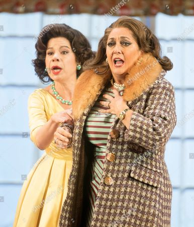 Ana Maria Martinez as Alice Ford, Marie McLaughlin as Meg Page,
