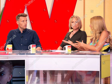 Carol McGiffin and Stacey Solomon and Christopher Harper