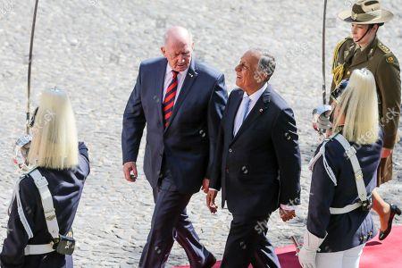 Marcelo Rebelo de Sousa and Peter John Cosgrove