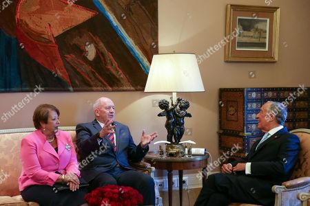 Marcelo Rebelo de Sousa, Peter John Cosgrove and Lynne Cosgrove