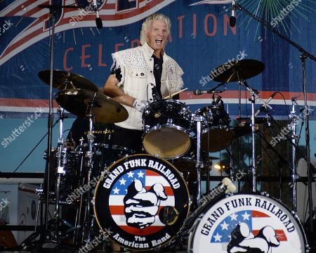 Editorial photo of Grand Funk Railroad in concert at the BB&T Center, Sunrise, USA - 04 Jul 2018