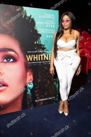 Editorial photo of 'Whitney' screening at the Soho Hotel, London, UK - 05 Jul 2018