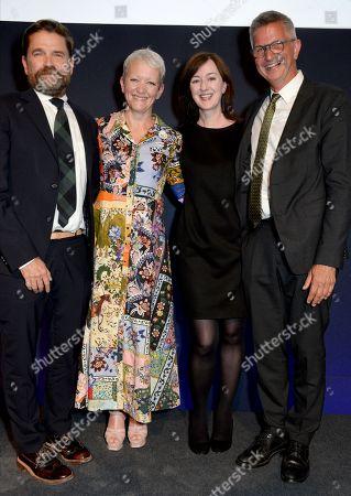 Jamie Fobert, Maria Balshaw, Anne Barlow and Mark Osterfield
