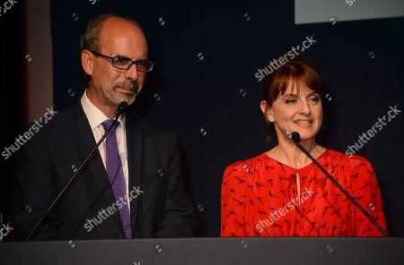 Stephen Deuchar and Rebecca Jones