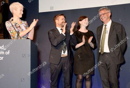 Maria Balshaw, Jamie Fobert, Anne Barlow and Mark Osterfield