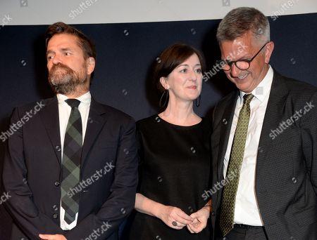 Jamie Fobert, Anne Barlow and Mark Osterfield