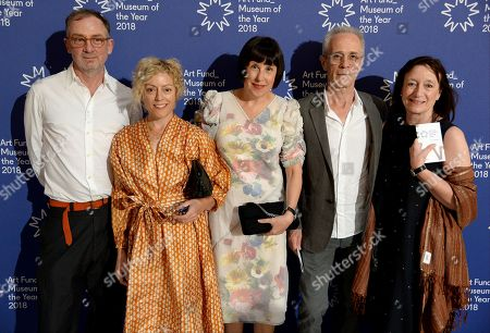Gary Hume, Georgie Hopton, Alice Rawsthorn, David Batchelor and Anne Gallagher