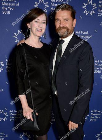 Anne Barlow and Jamie Fobert