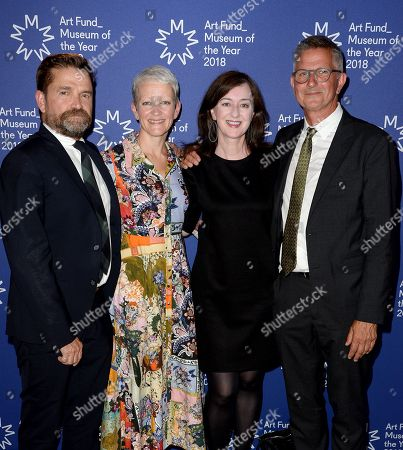 Editorial image of Art Fund Museum of the Year 2018 announcement, Victoria and Albert Museum, London, UK - 05 Jul 2018